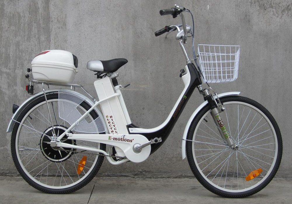 Электровелосипед E-motions Dacha (Дача) 350W 7 скоростей - купить в интернет магазине Вольтрэко Voltreco.ru с гарантией с достав